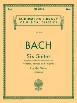 6 Suites (Viola Solo) (HL-50258440)