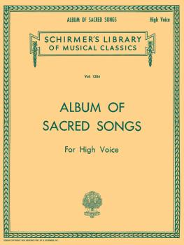 Album of Sacred Songs (High Voice) (HL-50258870)