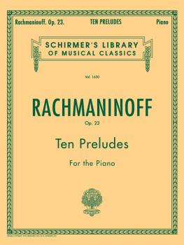 10 Preludes, Op. 23 (Piano Solo) (HL-50260610)
