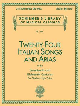 24 Italian Songs & Arias - Medium High Voice (Book only) (Medium High  (HL-50261140)