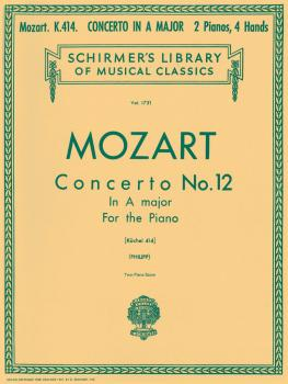 Concerto No. 12 in A, K.414: National Federation of Music Clubs 2014-2 (HL-50261210)