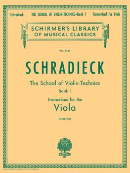 School of Violin Technics, Op. 1 - Book 1 (Viola Method) (HL-50261380)