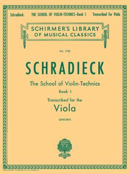 School of Violin Technics, Op. 1 - Book 1 (Viola Method) (HL-50261380)
