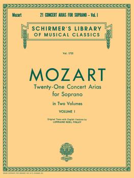 21 Concert Arias for Soprano - Volume I (Voice and Piano) (HL-50261390)