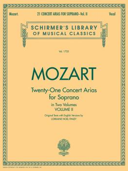 21 Concert Arias for Soprano - Volume II (Voice and Piano) (HL-50261400)