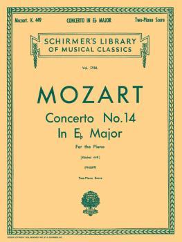 Concerto No. 14 in Eb, K.449 (Piano Duet) (HL-50261440)