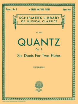 6 Duets for Two Flutes, Op. 2 (Set of Parts) (HL-50261600)