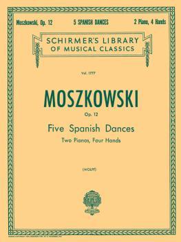 5 Spanish Dances Op12 2pn/4hd (HL-50261650)