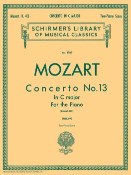 Concerto No. 13 in C, K. 415: National Federation of Music Clubs 2014- (HL-50261760)