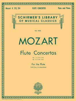 Concerto No. 1 in G Major, K. 313/Concerto No. 2 in D Major, K. 314 (f (HL-50261850)