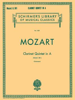 Clarinet Quintet in A, K.581 (Set of Parts) (HL-50262100)