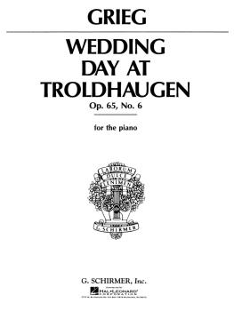 Wedding Day at Troldhaugen (Piano Solo) (HL-50269110)
