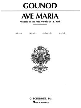 Ave Maria (High Voice in G) (HL-50272100)