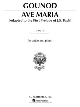 Ave Maria (Low Voice in D) (HL-50272850)