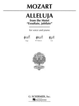 Alleluia (from Exsultate, jubilate): Medium Voice in E-Flat (HL-50277670)