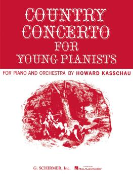 Country Concerto for Young Pianists (set): National Federation of Musi (HL-50291190)