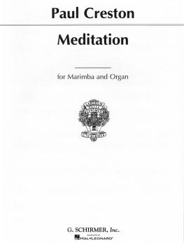 Meditation Op. 90 (Marimba and Piano) (HL-50291630)