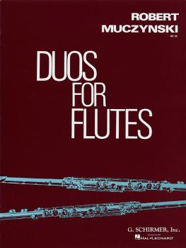 Duos for Flutes, Op. 34 (Score and Parts) (HL-50291720)