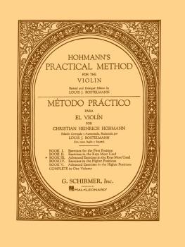 Practical Method for the Violin (Book 3) (HL-50326680)