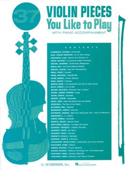 37 Violin Pieces You Like to Play (Violin and Piano) (HL-50327830)