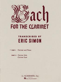 Bach for the Clarinet - Part 1 (Clarinet and Piano) (HL-50328140)