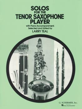 Solos for the Tenor Saxophone Player: Tenor Sax and Piano Book Only (HL-50330570)