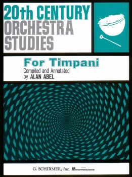 Twentieth Century Orchestra Studies for Timpani (HL-50331360)