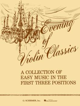 An Evening of Violin Classics (Violin and Piano) (HL-50331390)