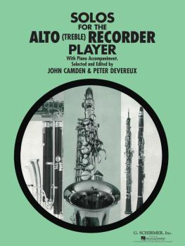 Solos for the Alto Recorder Player (for Alto Recorder & Piano) (HL-50331960)