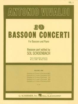 10 Bassoon Concerti, Vol. 1: Bassoon with Piano Accompaniment (HL-50332410)