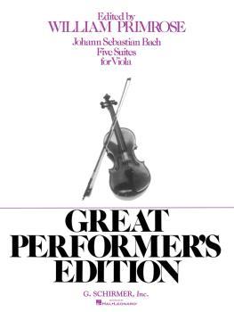 5 Suites (Viola Solo) (HL-50334250)
