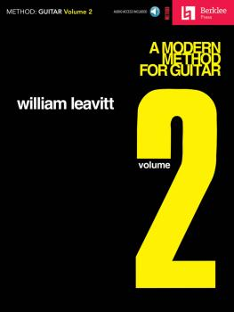 A Modern Method for Guitar - Volume 2 (HL-50448021)