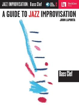 A Guide to Jazz Improvisation (Bass Clef Edition) (HL-50449443)