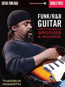 Funk/R&B Guitar: Creative Solos, Grooves & Sounds (HL-50449569)