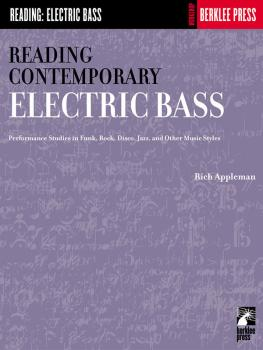 Reading Contemporary Electric Bass (Guitar Technique) (HL-50449770)