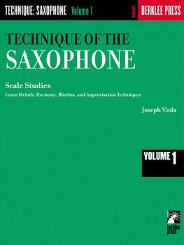 Technique of the Saxophone - Volume 1 (Scale Studies) (HL-50449820)