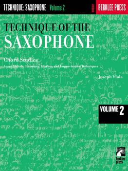 Technique of the Saxophone - Volume 2 (Chord Studies) (HL-50449830)