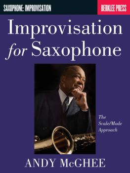 Improvisation for Saxophone: The Scale/Mode Approach (HL-50449860)