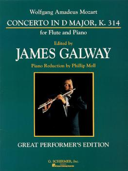 Concerto No. 2 in D Major, K. 314 (for Flute & Piano Reduction) (HL-50481086)