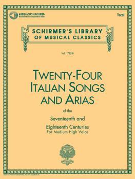 24 Italian Songs & Arias of the 17th & 18th Centuries: Medium High Voi (HL-50481592)