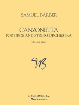 Canzonetta (for Oboe & Piano Reduction) (HL-50481827)