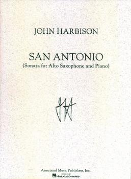 San Antonio Sonata (for Alto Saxophone & Piano) (HL-50482227)