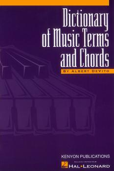 Dictionary of Music Terms and Chords (HL-50482427)