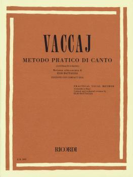 Practical Vocal Method (Vaccai) - Low Voice (Alto/Bass - Book/CD) (HL-50482869)
