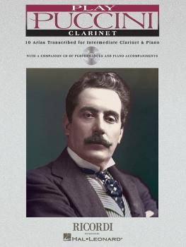 Play Puccini: 10 Arias Transcribed for Clarinet & Piano (HL-50484650)