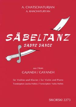 Aram Khachaturian - Sabre Dance (from the Ballet Gayaneh transcribed f (HL-50485183)