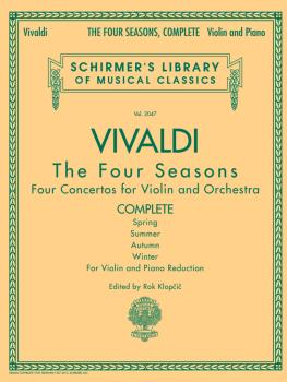 Antonio Vivaldi - The Four Seasons, Complete (for Violin and Piano Red (HL-50485535)