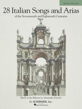 28 Italian Songs & Arias of the 17th & 18th Centuries - Medium Low, Bo (HL-50485629)