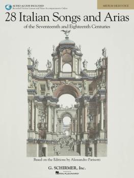 28 Italian Songs & Arias of the 17th & 18th Centuries - Medium High -  (HL-50485630)