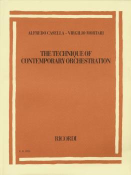 Alfredo Casella/Virgilio Mortari - The Technique of Contemporary Orche (HL-50485714)